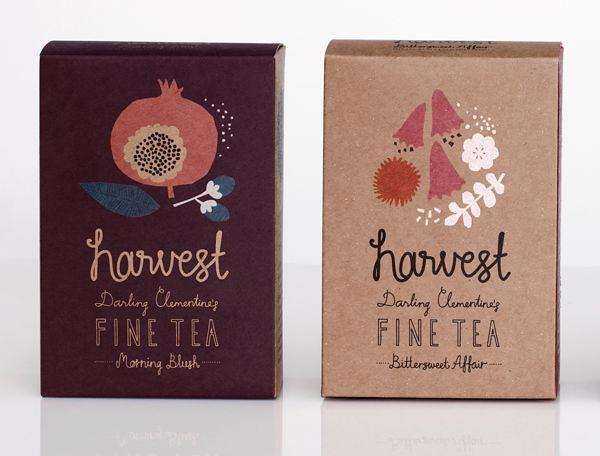 Harvest fine tea