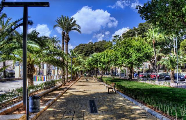 Promenade at Almeria by Flickr CC Steve Slater
