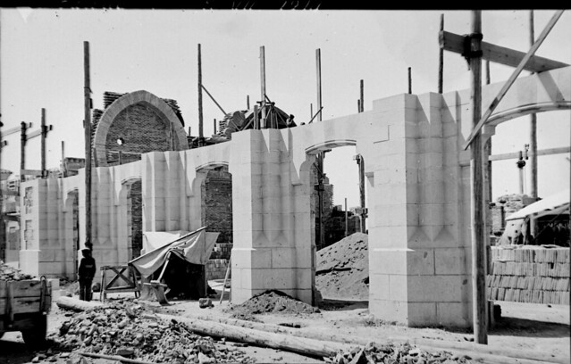 Estación de ferrocarril de Toledo el 8 de julio de 1914  © Archivo Histórico Ferroviario del Museo del Ferrocarril de Madrid. Fotografía de F. Salgado. Signatura 0452-IF MZA 0-3