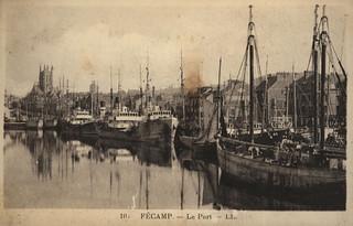 Fécamp: le port