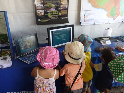 Image of children learning about their watershed.