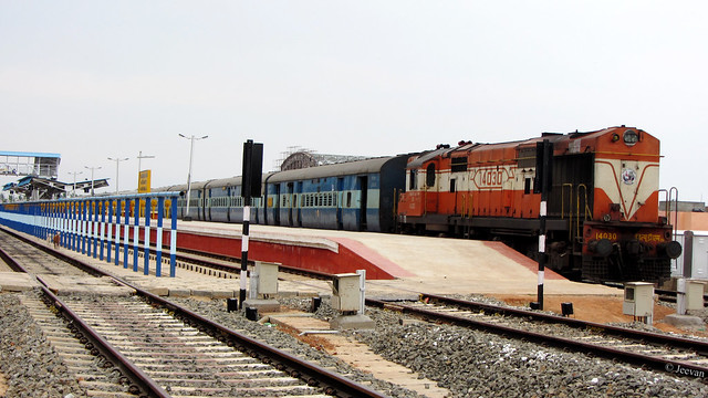 Train station, Karaikal