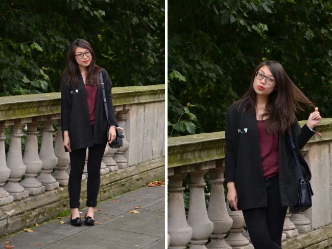 Daisybutter - UK Style and Fashion Blog: what i wore, lfw, british blogger, uk fashion blogger, river island, new look, mulberry, trouser suit