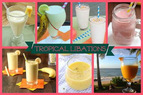 Tropical Libations Smoothie Recipes | cupcakesandkalechips.com | #smoothies #smoothie #smoothierecipes
