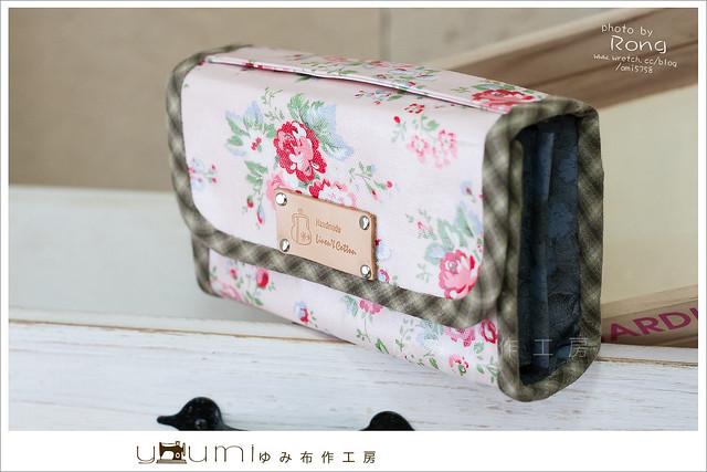 粉紅小玫瑰存摺包1