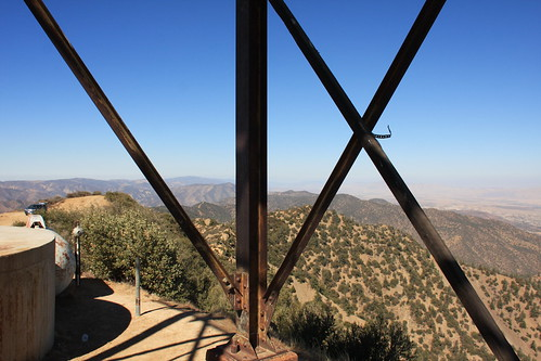Cuyama Peak Lookout/AWS Cabin Remains No. 2