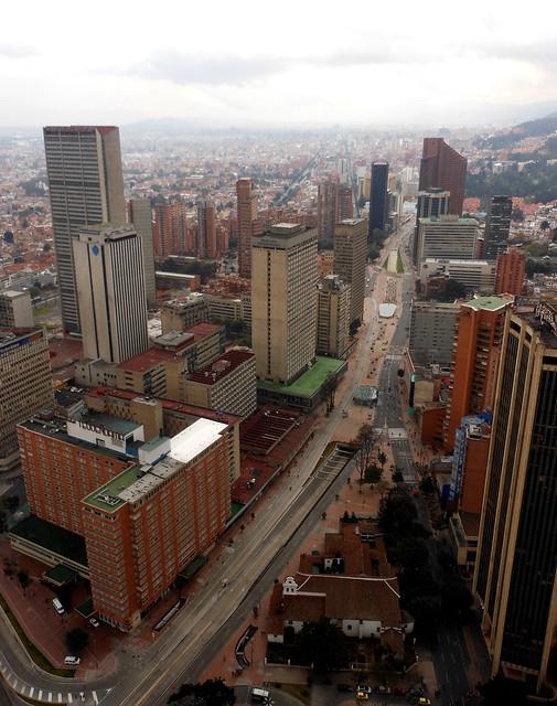 Carrera 7 in Bogota