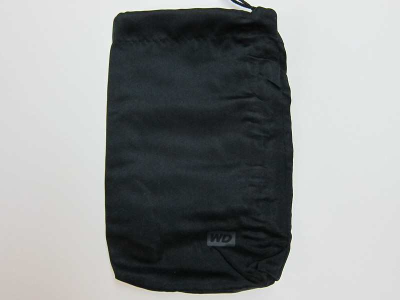 Western Digital My Passport Slim (1TB) - Carrying Pouch