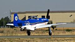 Thunder Mustang (N352BT) 'Blue Thunder  II' American Air Racing Ltd 2009 1