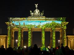 Brandenburger Tor Berlin (2) - Festival of Lights 2013