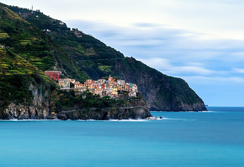 Living by the sea #1 (Corniglia in Cinque Terre, Italy)