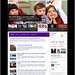 New Yahoo Homepage tablet