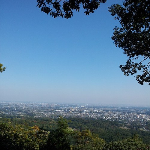 日和田山、山頂より。