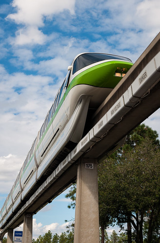 Monorail Monday - Lime On The Line by Jeff.Hamm.Photography