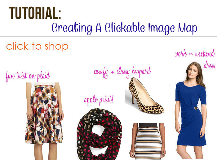 Blogging Tips Tutorial: Creating Your Own Clickable Image Map