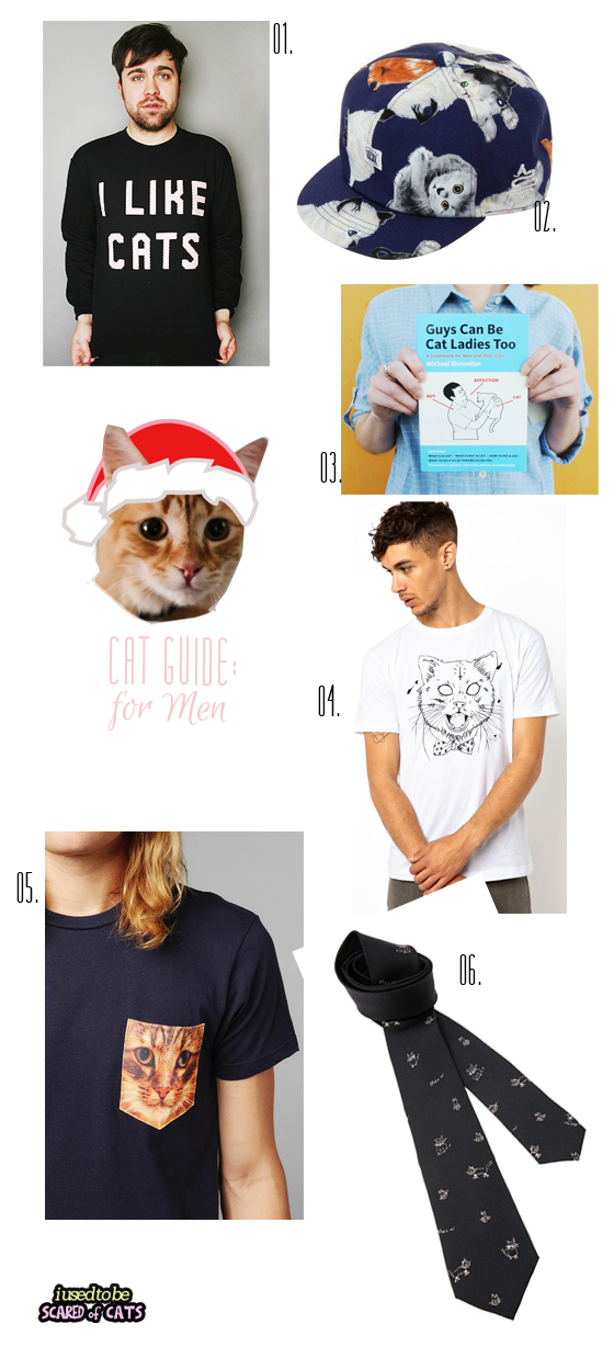 cat gift guide for men
