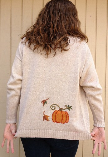Pumpkin Cardigan