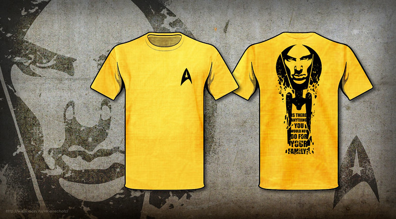 Star Trek handmade T-shirt (Khan)