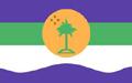 Bandeira da cidade de Ilha Comprida