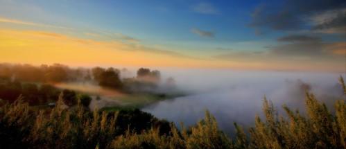morning mist fog sunrise canon landscape drohiczyn cesarz marcelxyz