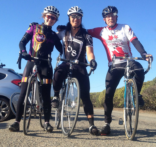 Mt Tamalpias ride folks