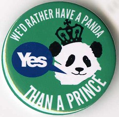 Yes Scotland badge, November 2013