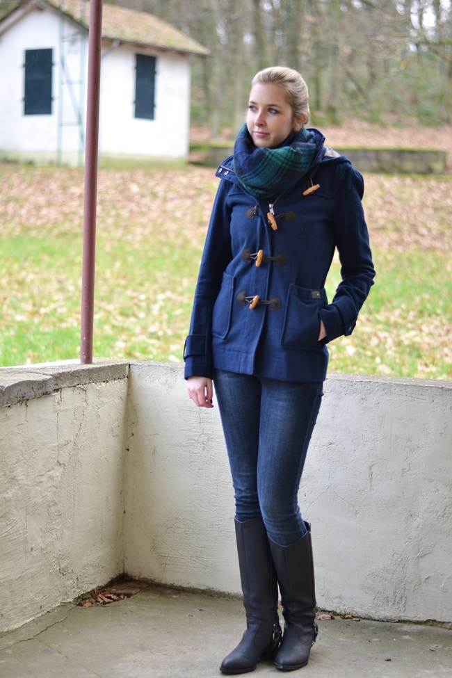 Outfit Roter Pulli + Bluse (5)