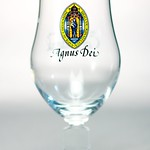 ベルギービール大好き!!【コルセンドンク・アグヌスの専用グラス】(管理人所有 )