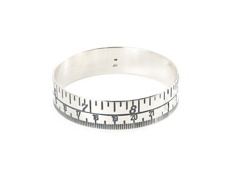 Tape Measure bangle