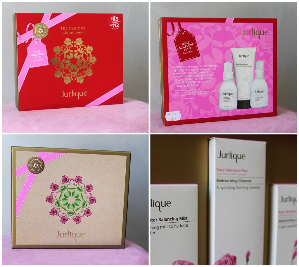 Jurlique christmas pack value natural australian beauty review blog blogger aussie rose moisture plus hand picked lavender pretty skin clear beautiful opinion