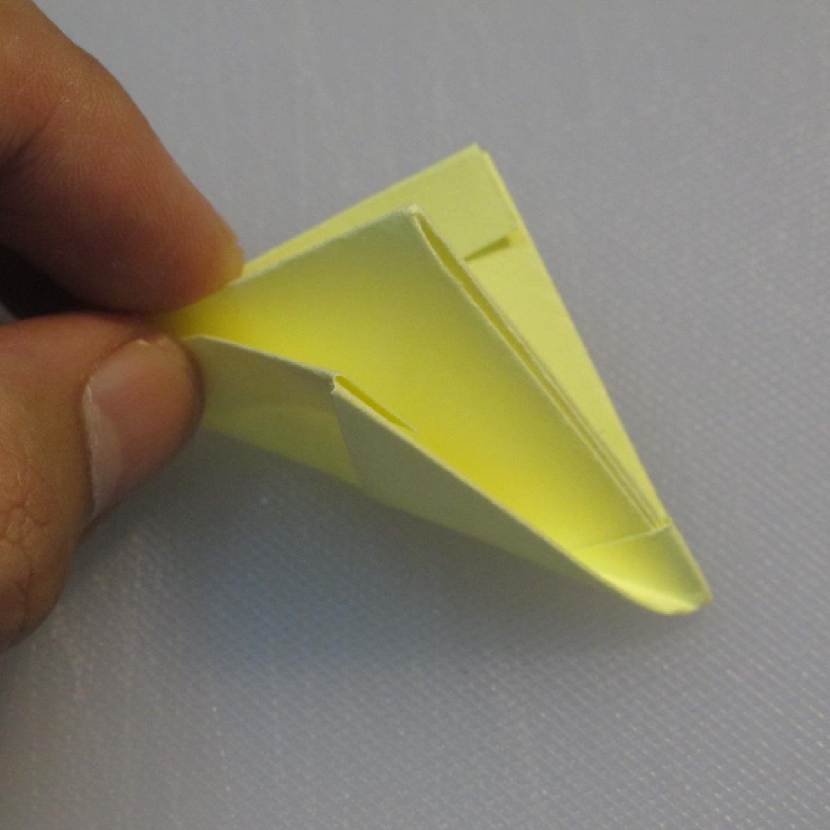 การพับกระดาษเป็นรูปเรือใบ (Origami Boat – 船の折り紙) 008
