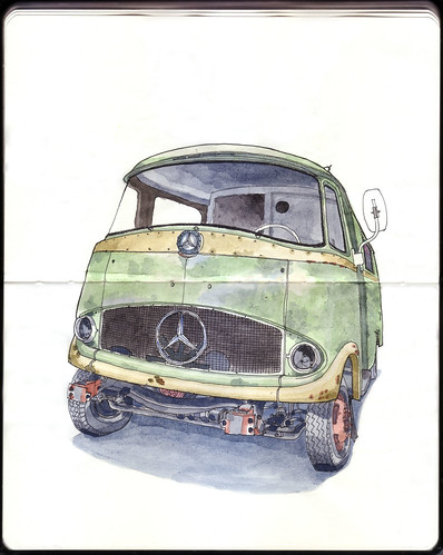 Mercedes Benz II: by ftessa