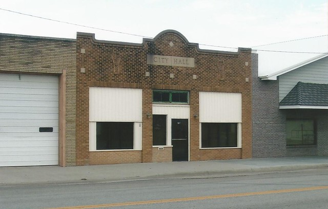 26. Their city hall, in an old building, Galva, 11 25 06