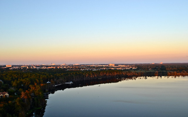Blue Heron Beach Resort Orlando - Sunset View from Room