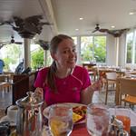 Breakfast before the Reef Bay trail hike