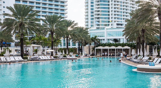 Fontainebleau Pool View