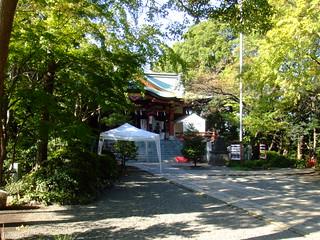 多摩川浅間神社・境内