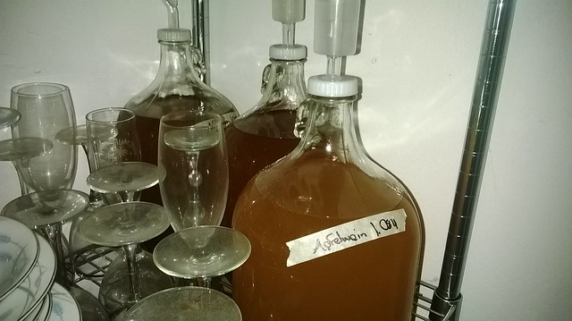 Three! carboys of Apfelwein