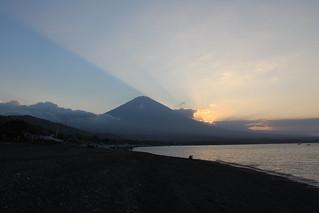Sunset on Gunung Agung