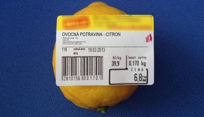 Pozor na etikety u ovoce i zeleniny