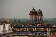 View of Chettinad mansions