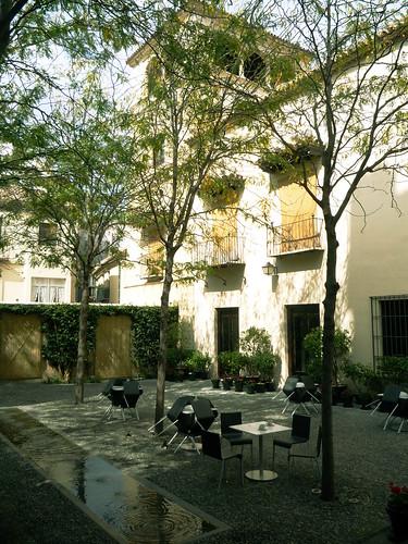 Patio im Palacio Buenaventura