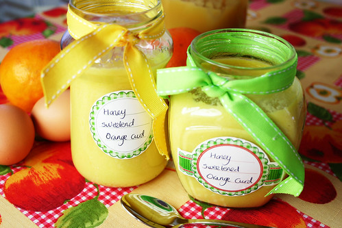 Pudding-Girl's orange curd