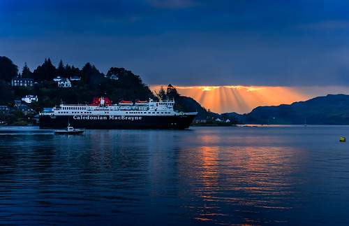 Oban-ferry by brownrobert73