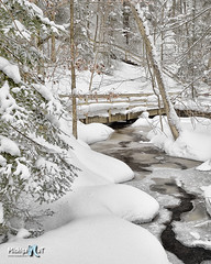 Munising Creek, Michigan's Upper Peninsula by Michigan Nut