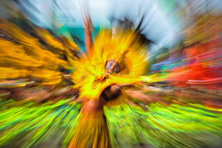 "Dinagyang 2014 Abstractionism : "" Supernova """