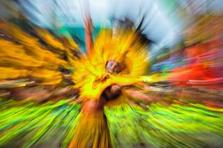 """Dinagyang 2014 Abstractionism : """" Supernova """""""