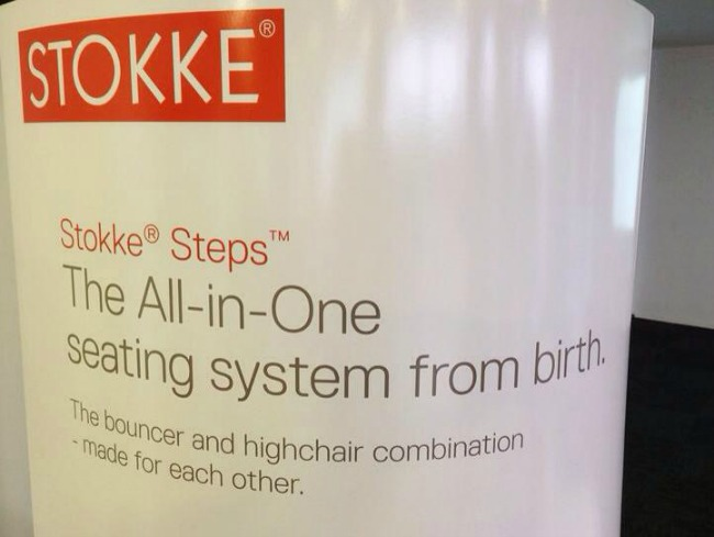 Stokke Steps Sign
