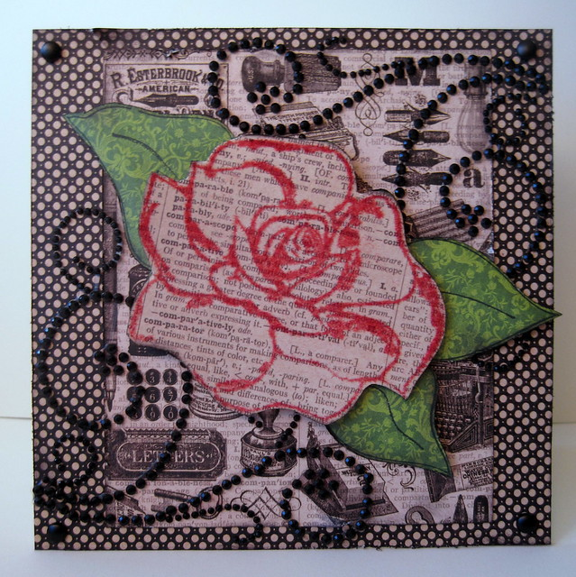 Card - TRC Rose Outline