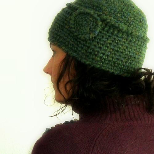 gorrito en lana estilo años 20!
